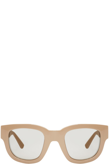Acne Studios - Tan Mirrored Frame Sunglasses