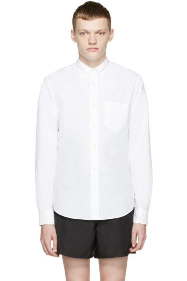 Acne Studios - White Isherwood Pop Shirt