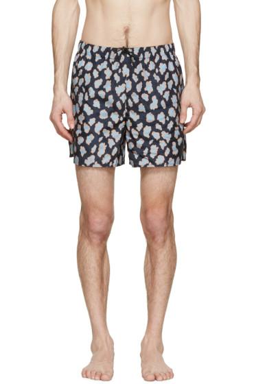 Acne Studios - Navy Perry Print Swimsuit