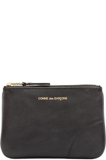Comme des Garçons Wallets - Black Small Leather Pouch