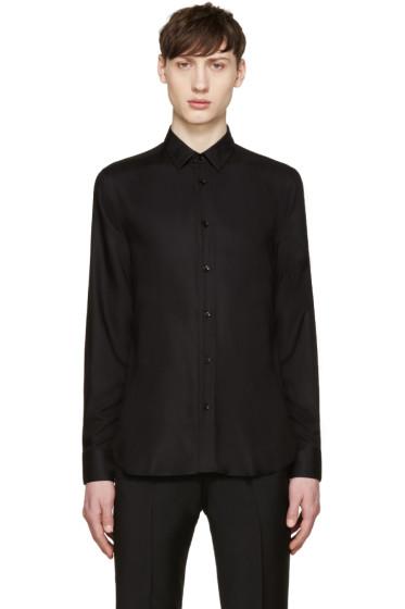 Saint Laurent - Black Twill Shirt