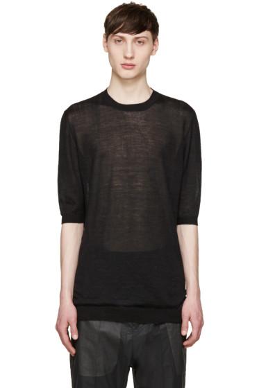 Thamanyah - Black Cashmere Sweater