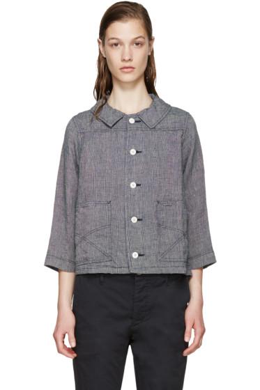 Visvim - Navy Linen Rose Jacket