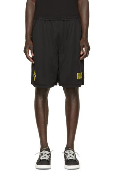 Marcelo Burlon County of Milan - Black Vallegrande Shorts