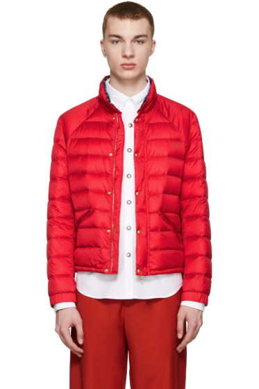 Moncler Gamme Bleu - Red Quilted Down Jacket