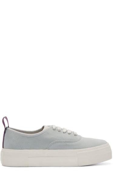 Eytys - Grey Suede Mother Sneakers