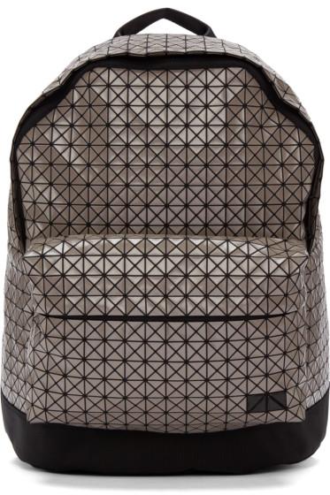 Bao Bao Issey Miyake - Grey Geometric Daypack Backpack