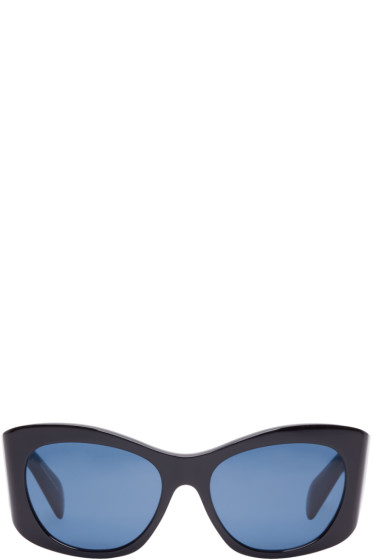 Oliver Peoples The Row - Black Acetate Bother Me Sunglasses