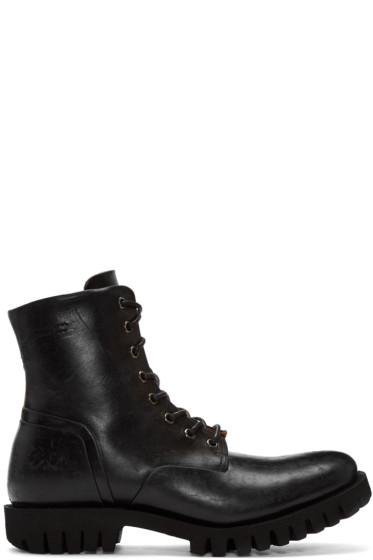 Diesel - Black D-Depp Boots