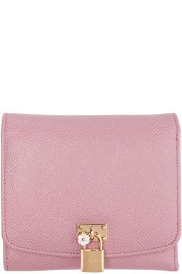 Dolce & Gabbana - Pink Flap Wallet