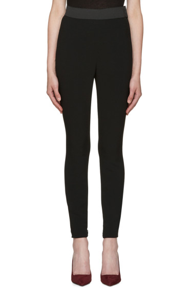 Dolce & Gabbana - Black Cady Pesante Trousers