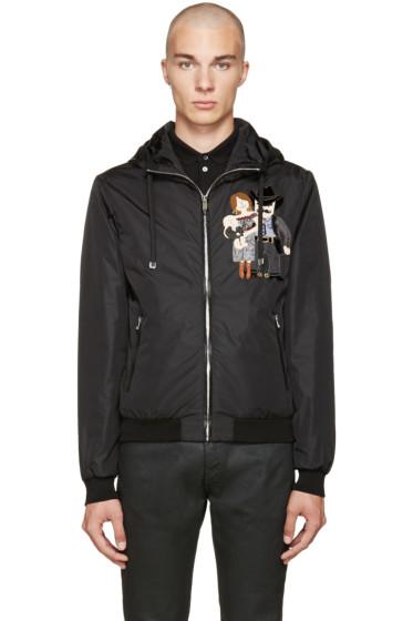Dolce & Gabbana - Black Nylon Cowboy Jacket