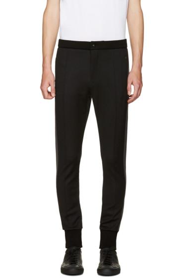 Dolce & Gabbana - Black Cuffed Lounge Pants