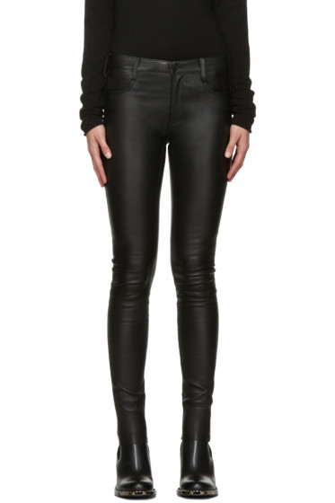 Mackage - Black Leather Skinny Trousers