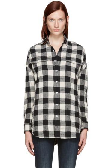 R13 - Black X-Oversized Shirt