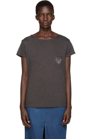 Rag & Bone - Black X-Boyfriend T-Shirt