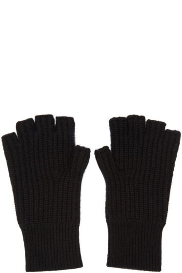 Rag & Bone - Black Cashmere Kaden Gloves