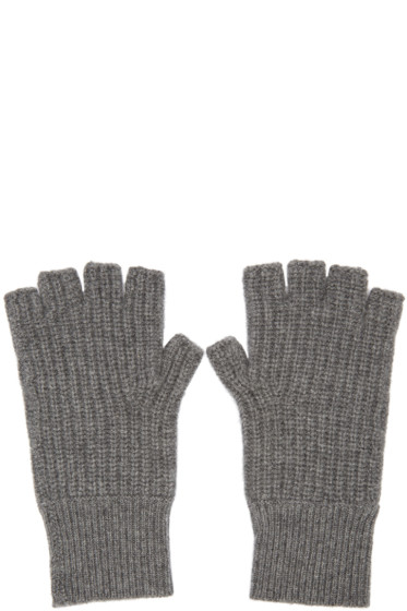 Rag & Bone - Grey Cashmere Kaden Gloves