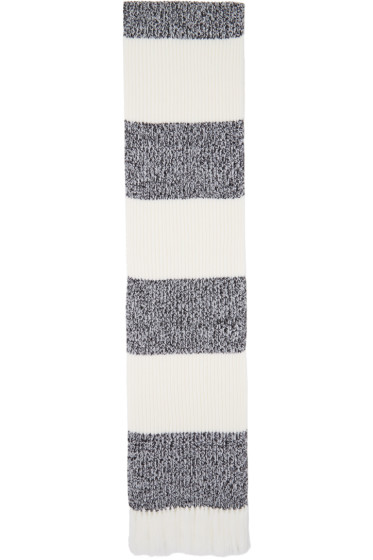 Rag & Bone - Black & White Roscoe Scarf