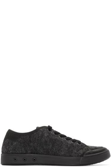 Rag & Bone - Grey Wool Standard Issue Sneakers
