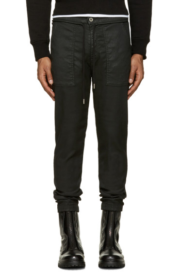 Diesel Black Gold - Black Coated Jeans