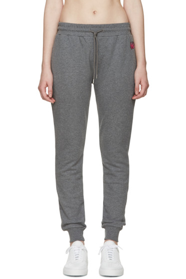 McQ Alexander Mcqueen - Grey French Terry Lounge Pants