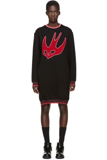 McQ Alexander Mcqueen - Black Varsity Pullover