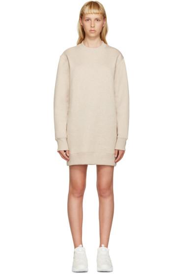 Acne Studios - Beige Fleece Carola Pullover Dress