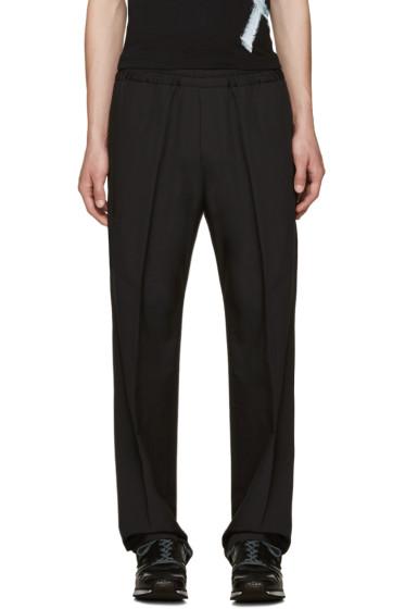 Acne Studios - Black Wool Ryder Trousers
