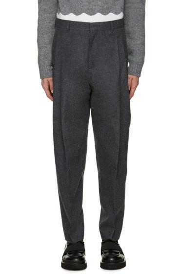 Acne Studios - Grey Flannel Piano Trousers