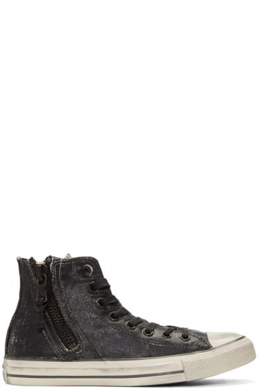 Converse by John Varvatos - Black Chuck Taylor All Star Zip High-Top Sneakers