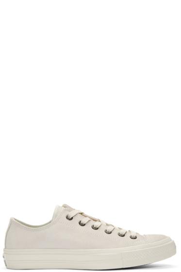 Converse by John Varvatos - Grey Leather CTAS II OX Sneakers