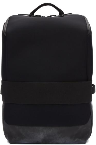 Y-3 - Black Neoprene Small Qasa Backpack