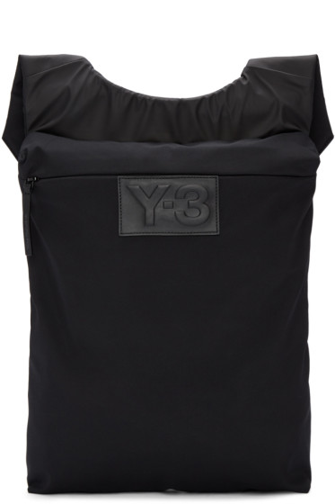 Y-3 - Black Qasa Vest Backpack