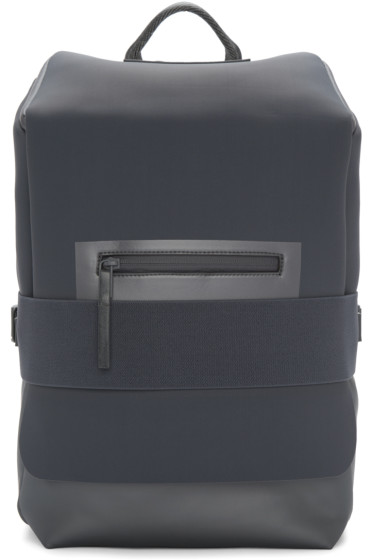 Y-3 - Blue & Grey Small Qasa Backpack