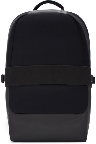 Y-3 - Black Neoprene Qasa Backpack
