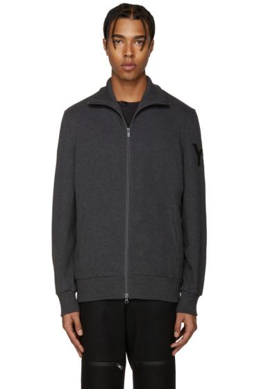 Y-3 - Grey Funnel Neck Sweatshirt
