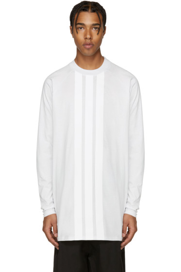 Y-3 - White Stripe T-Shirt