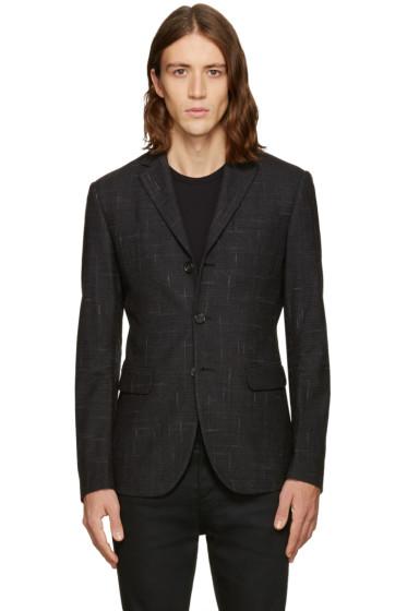 Dsquared2 - Grey Check Kyoto Blazer
