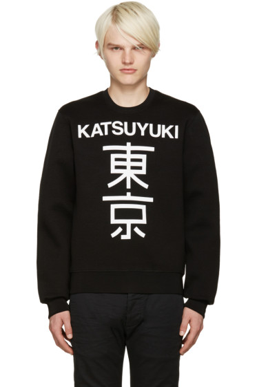 Dsquared2 - Black Printed Dean Pullover