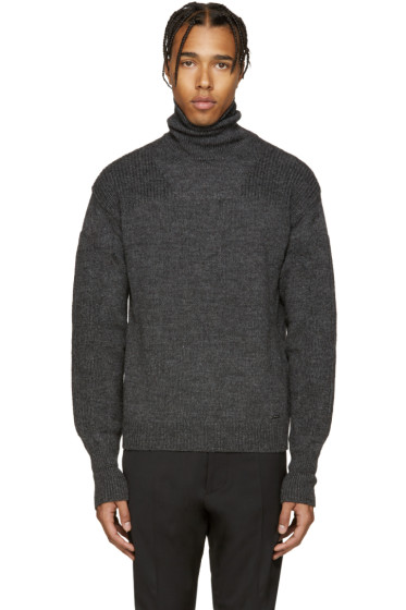 Dsquared2 - Grey Wool Turtleneck.