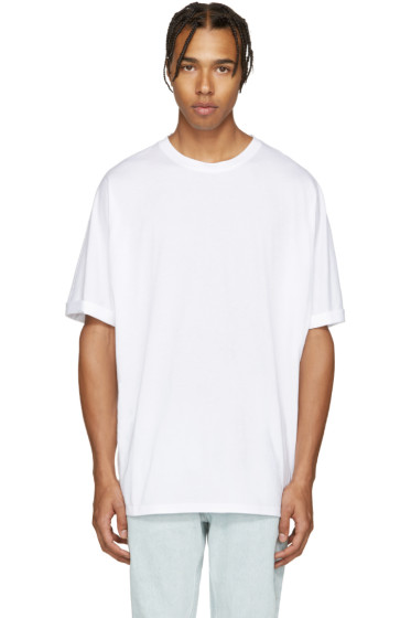Helmut Lang - White Oversized T-Shirt