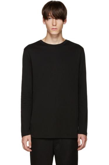 Helmut Lang - Black Jersey T-Shirt