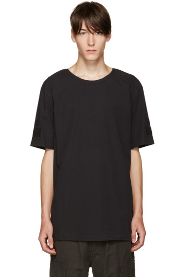 Helmut Lang - Black Oversized T-Shirt