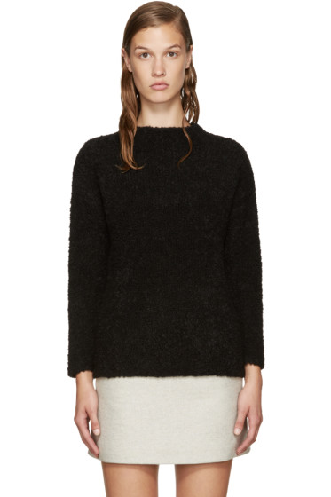 YMC - Black Smock Teddy Sweater