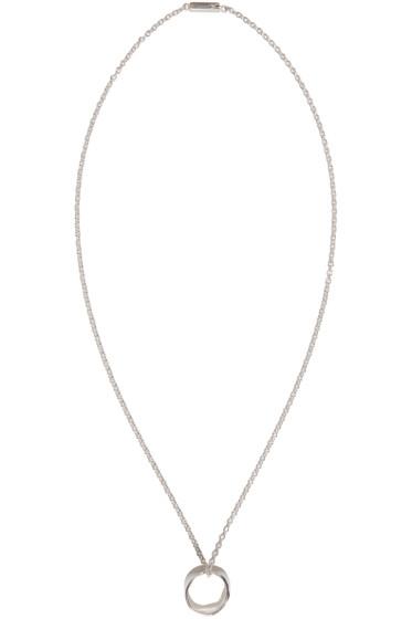 Maison Margiela - Silver Ring Necklace