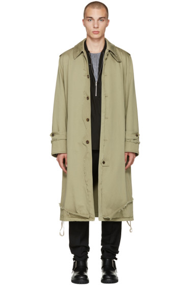 Maison Margiela - Khaki Oversized Coat