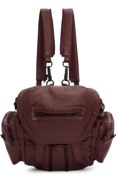 Alexander Wang - Burgundy Mini Marti Backpack