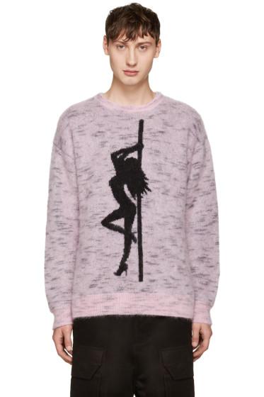 Alexander Wang - Pink Oversized Dancer Sweater