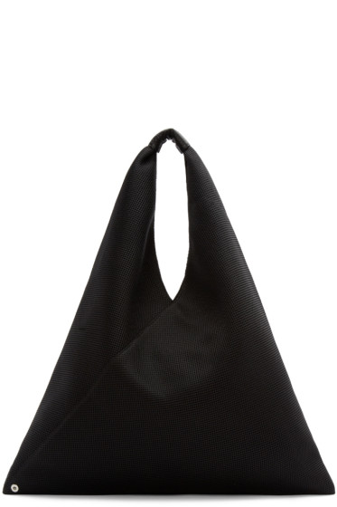 MM6 Maison Margiela - Black Mesh Shopper Tote
